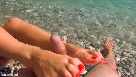 A la plage – Mlle Fanchette