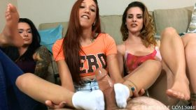 Sorority Hazing Footjob With Stephania – Stefania Mafra
