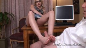 Secretary Gives Boss a raise – Tiffany Fox
