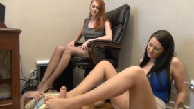 Principals Office Footjob – Bratty Babes Own You