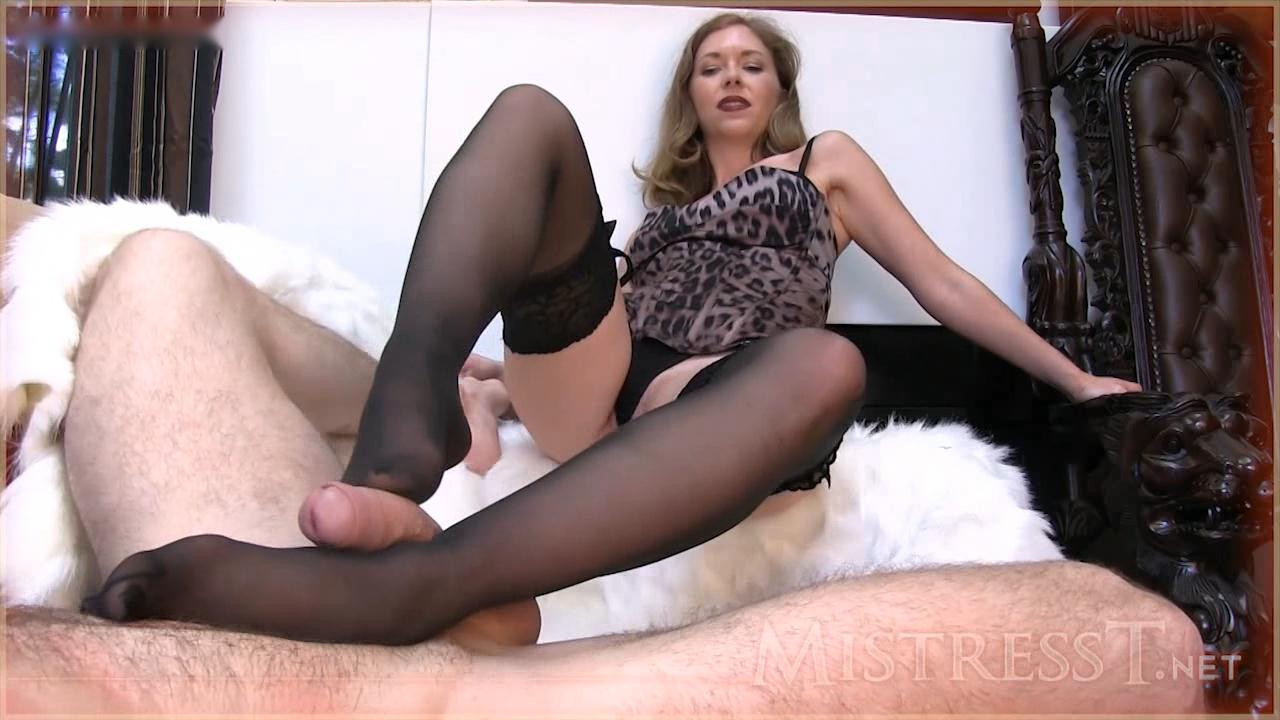 Mistress female domination feet stockings Goes!