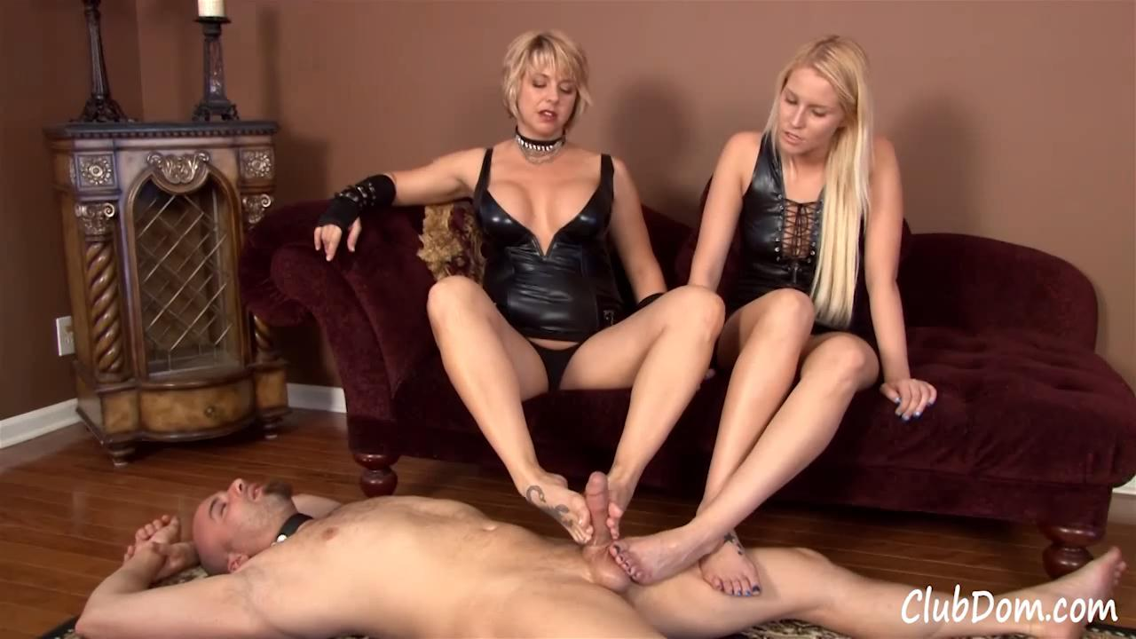 Foot-Jerk-Reward-Club-Dom-Goddess-Brianna-Vanessa-Cage