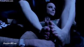 Kajira – Movie Theater Footjob – Primal's FOOTJOBS