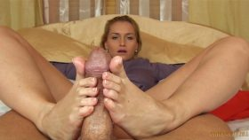 Your cum belongs only to your mommy and her feet!!! – Kathia Nobili Girls