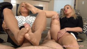 Secretaries Give Boss Footjob for the Bonus – EXTREME FEET CLIPS – Jessica Taylor, Payton Hall