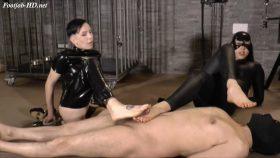 Double Foot-job ( Mistress Era Mistress Gaia ) – Padrona Era