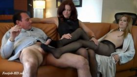 Footjob lesson from mom – Bodies and Soles