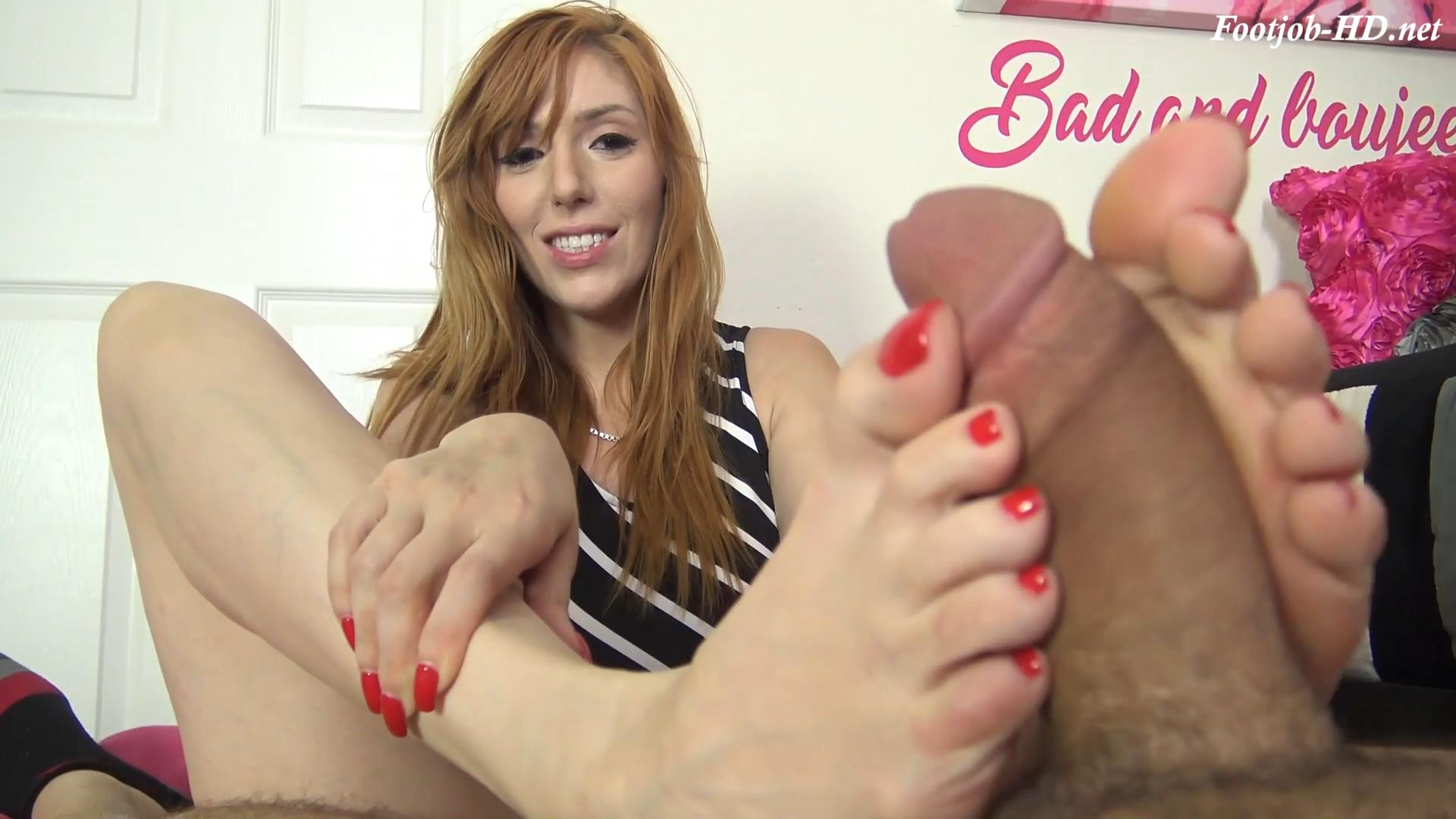 LAUREN PHILLIPS FOOT SLAVE, FOOT WORSHIP, FOOTJOB – The Foot Fantasy!!!