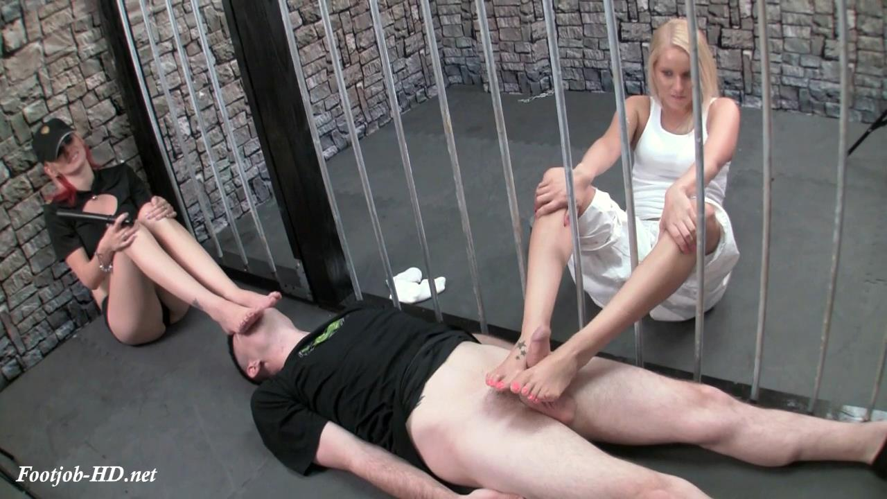 Prison Guard Foot Domination EXTENDED – Primal's FOOTJOBS – Vanessa Cage