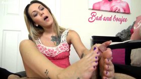 JAE LYNN FOOT WORSHIP FOOTJOB – The Foot Fantasy!!!