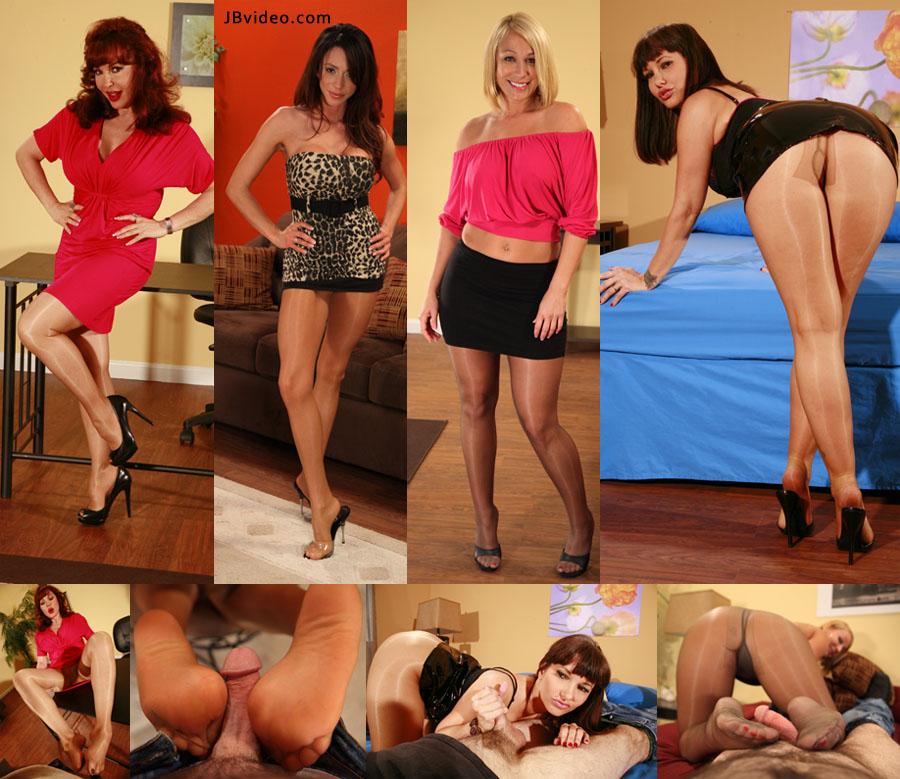 MILF FOOTJOBS POV 02 – JB Video – Mellanie Monroe, Carrie Ann, Sexy Vanessa, Ariella Ferrerra