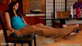 Wife Give Husbands Boss Edging Footjob Under The Table Husband Unaware – Bratty Babes Own You – Maria Marley
