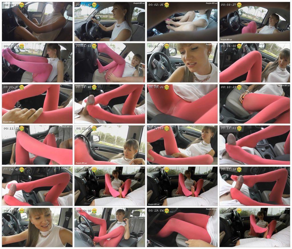 Cum on my pink pantyhose - Angel The Dreamgirl_scrlist