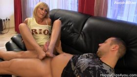 Amanda Cruz nylon footjob handjob video – Happy Clips 4 You