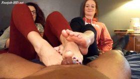 Josie brings Kat back for more action – Joey's FeetGirls