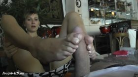 ToeJob with my naked foot – Angel The Dreamgirl 1080p