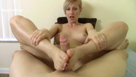 POV Footjob Foot Blow Job Beg U 4 Facial – Brittany Lynn