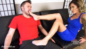 Reagan Lush's political sole seduction – Bratty Foot Girls
