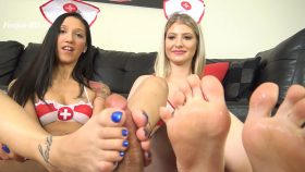 HOUSE CALL FOOTJOB – The Foot Fantasy!!! – Stefania Mafra, Maia Evon