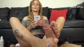 JENNY JETT SOLES IGNORE FOOTJOB – The Foot Fantasy!!!