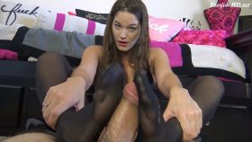 KENDRA HEART'S BRATTY STOCKING FOOT HUMILIATION FOOTJOB – The Foot Fantasy!!!