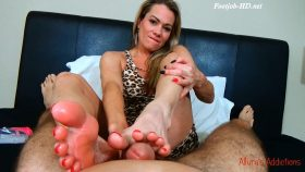 Must Love Feet Footjob – Alluras Addictions
