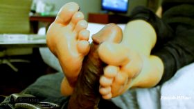 Perpetually on Edge – Ashley's Soles Get DOMINATED Then M I L K the Rod – AshleySoles/Size 6.5 – ATOT Amateur Footgirls