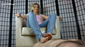 Slave is horny for Ms Sweet's Feet – Sweets Treats Trample Femdomme