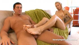 Summer Daniels' Full Scene! – Barely Legal Foot Jobs