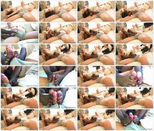 Del Dea toe pantyhose footjob – The Nylon Leg Fetish Store_scrlist