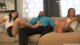 Real Estate Agent Kittie Catherine Seals The Deal With Cumblast Footjob Wife Unaware – Bratty Babes Own You