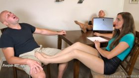 Real Estate Agent Sadie Holmes Seals The By Making Client Cum In Pants Under The Table Wife Unaware – Bratty Babes Own You