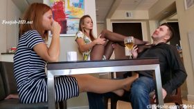 Naomi And Ginger Foreign Exchange Student Make Step Dad Cum In Pants – Bratty Babes Own You