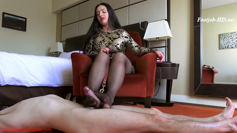Mistress Destroys Slaves Ass