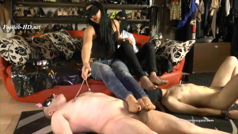 Mistress Gaia - Nipple Clamp Competition