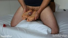 Stop tickling and ticklefucking my feet – SoloSo clips