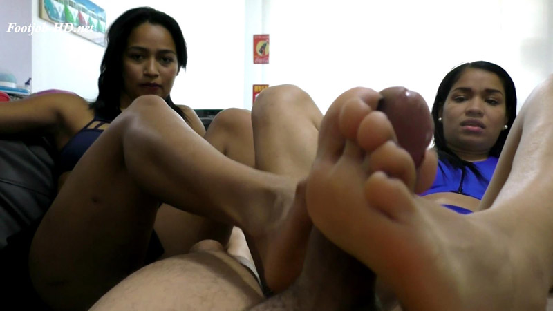 Claudia And Rocio Make Footjob And Get Many Milk – Latin Domination Goddesses