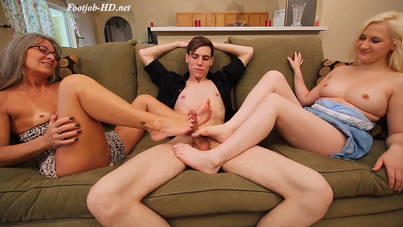 Family Time Double Footjob – XXX Multimedia – Leilani Lei, Fifi Foxx
