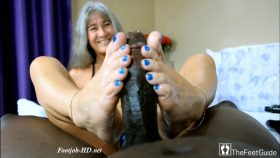 Leilani's Blue Passion Footjob – TheFeetGuideTV