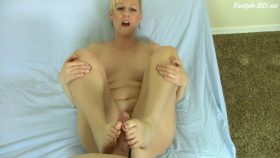 POV Footjob Blow Job Combo Thick Facial – Brittany Lynn