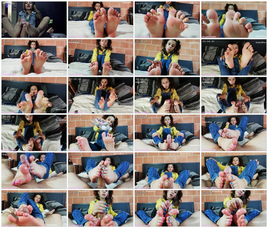 Bratty little step-sister gives me an Epic barefoot Footjob – Diosa Valentina Castiblanco_scrlist