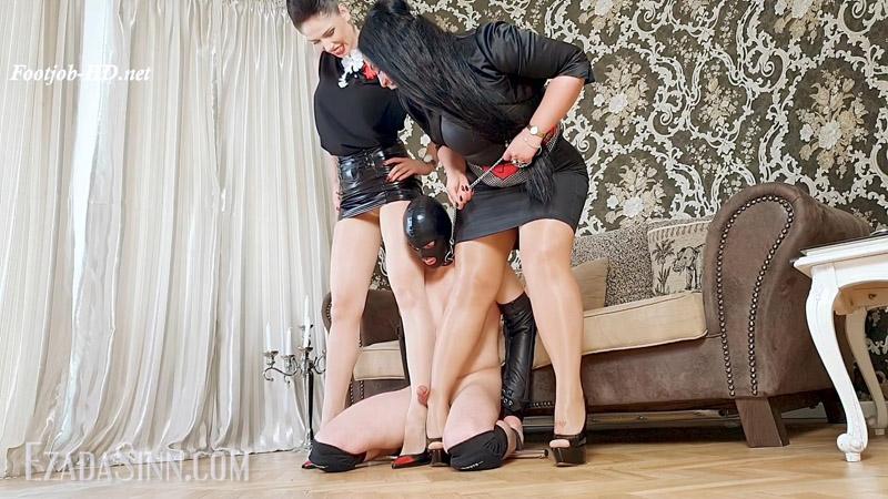 Nylon legs humping toyboy – Mistress Ezada Sinn, GlamyAnya