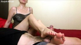 Pov footjob your better relax – HJ Goddess TEASE