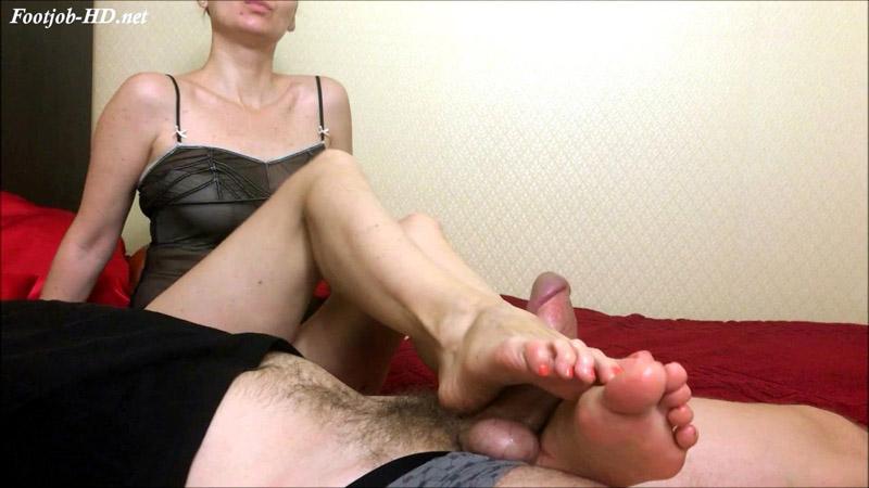 Pov footjob your better relax - HJ Goddess TEASE