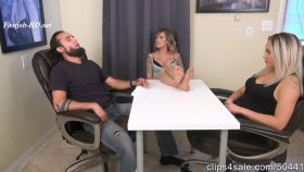Real Estate Agent Nika Gets House By Making Husband Cum In Pants Under The Table Wife Unaware – Bratty Babes Own You