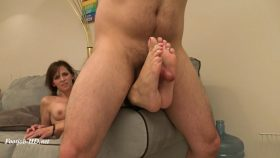 Bound and Getting My Soles Fucked for Bad Cable – Kinky Foot Girl