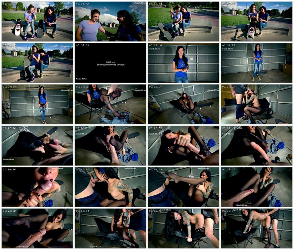Maria Skate Park Seduction FJ BJ Fuck - Perversion Productions - Maria Marley_scrlist