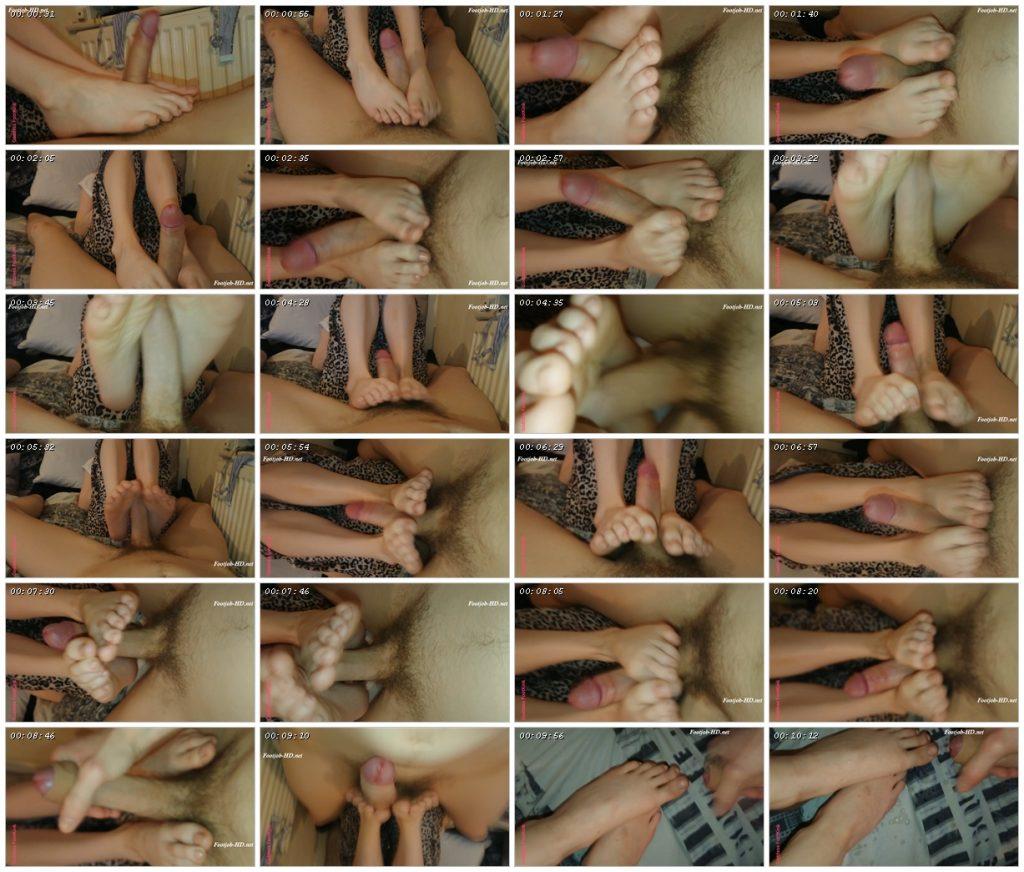 My Man Cums On My Toes After Footjob – Goddess FootKink_scrlist