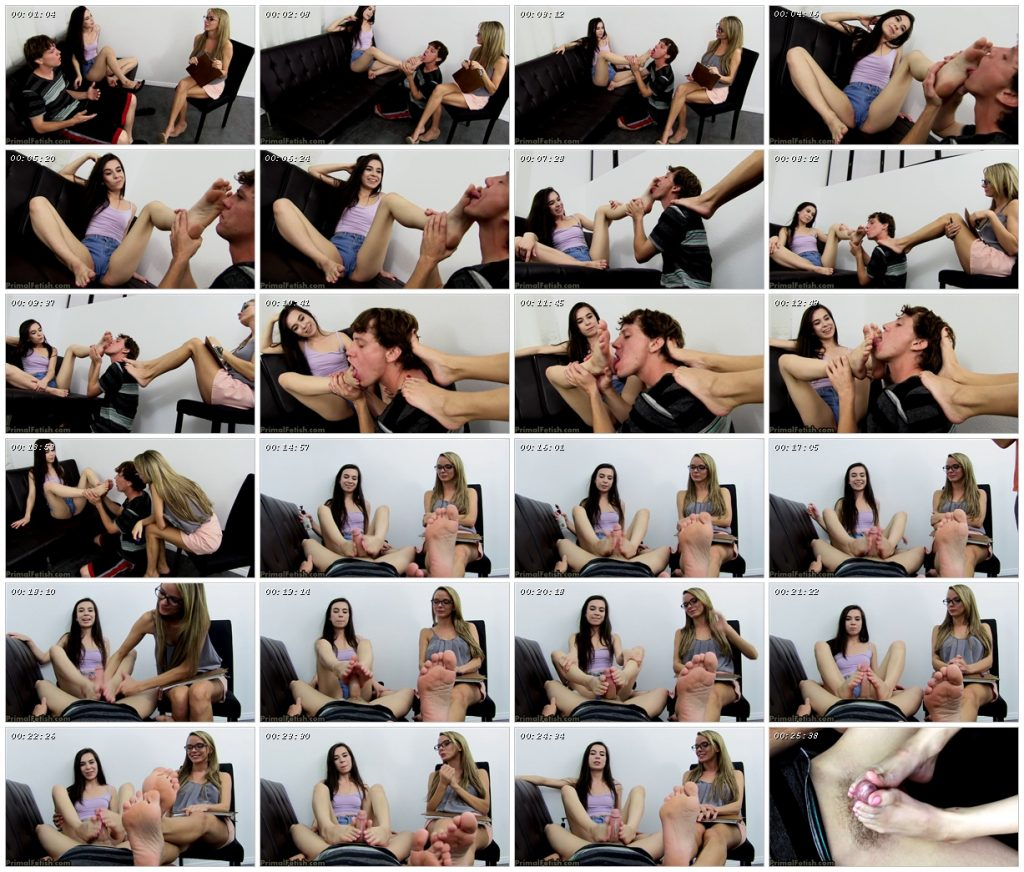 Pristine Edge and Ariel Grace – Boy gets Re-education Therapy – Primal's FOOTJOBS_scrlist
