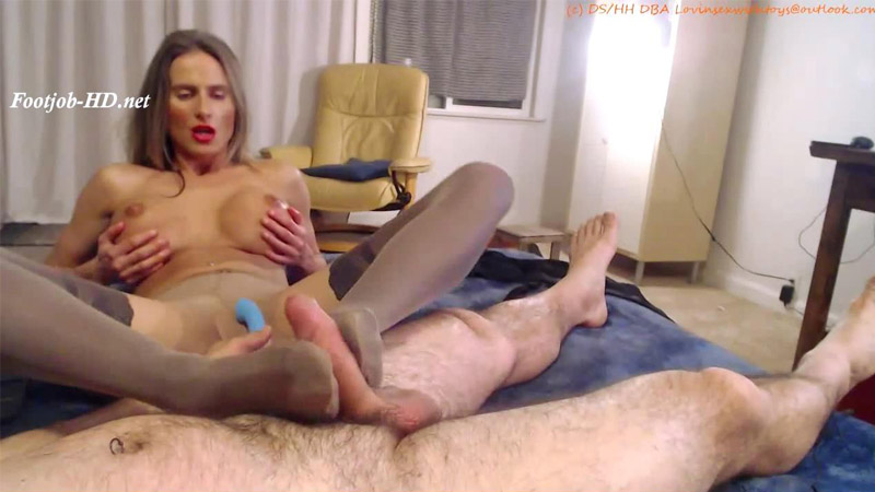 Foot job in stockings fetish vid – Lovinsexwithtoys